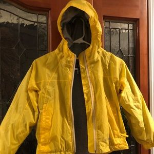Kids rain jacket from LL Bean